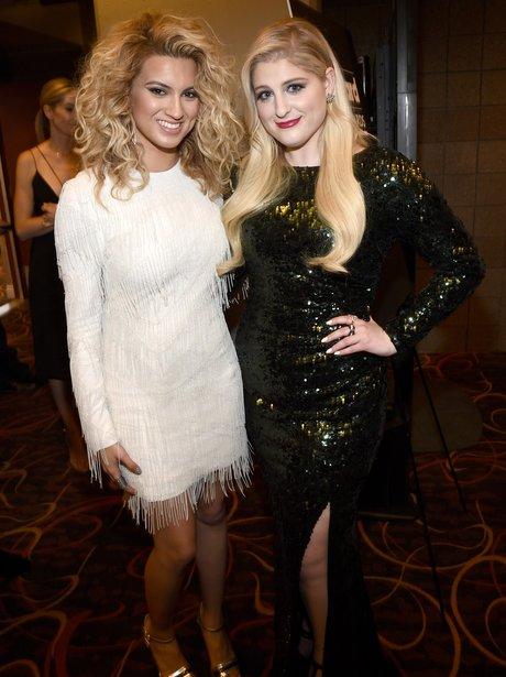 Meghan Trainor and Tori Kelly Billboard Awards 201