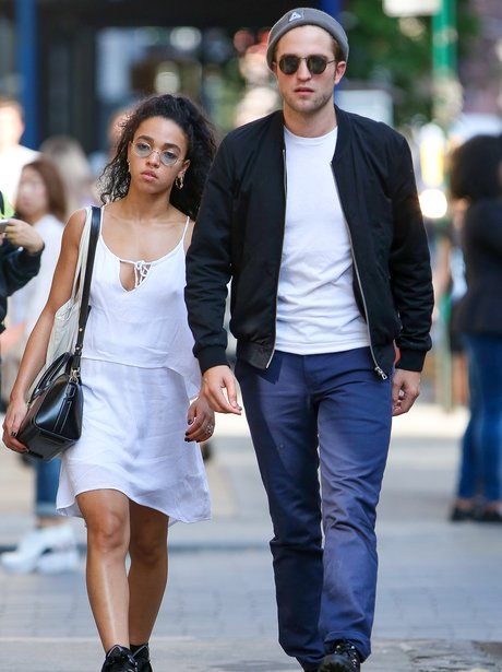 Robert Patinson and FKA Twigs