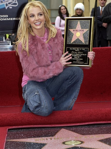 Britney Spears Hollywood Walk Of Fame