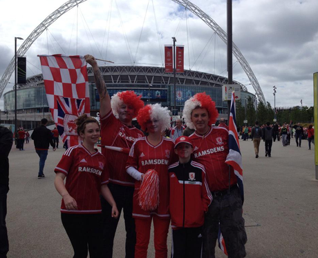 Middlesbrough At Wembley