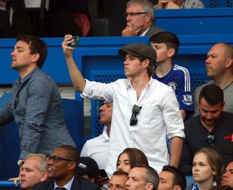 Niall Horan Watching Chelsea