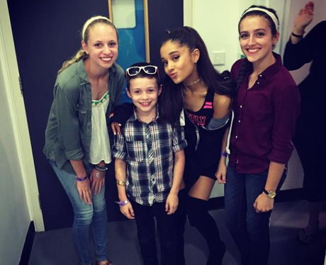 Ariana Grande Kelly Clarkson's Kids Instagram