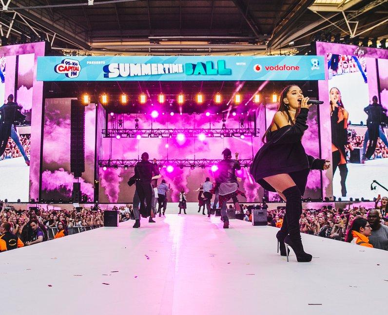 Ariana Grande Live Summertime Ball 2015