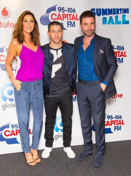 Dave Berry, Lisa Snowdon and Nick Jonas Red Carpet