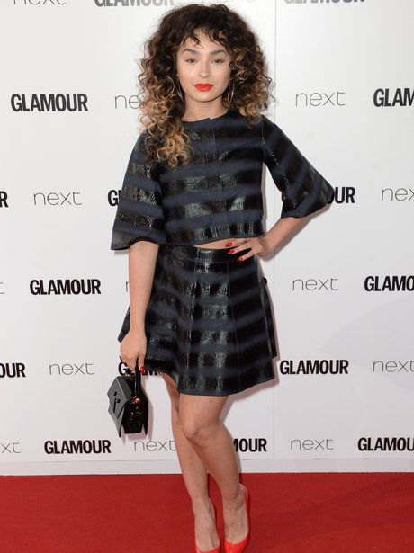 Ella Eyre Glamour Awards 2015