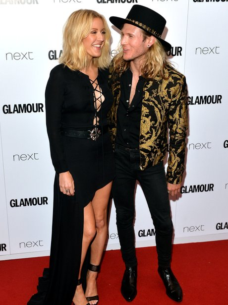 Ellie Goulding and Dougie Poynter Glamour Awards 2