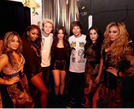 Fifth Harmony and One Direction