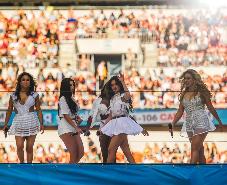 Fifth Harmony Live Summertime Ball 2015