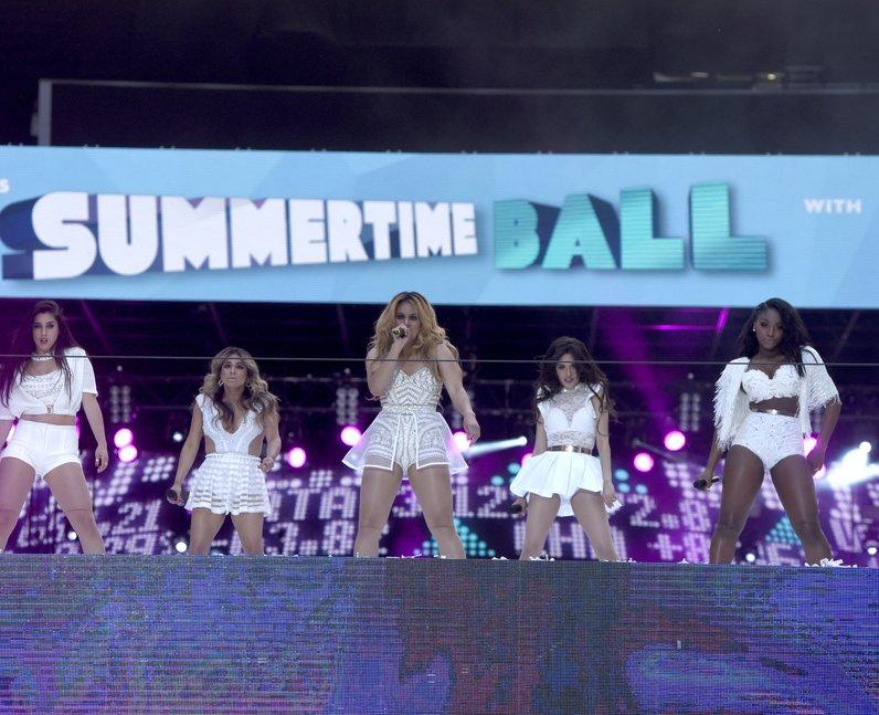 Fifth Harmony Summertime Ball 2015