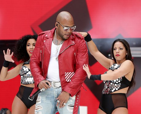 Flo Rida live at the Summertime Ball 2015