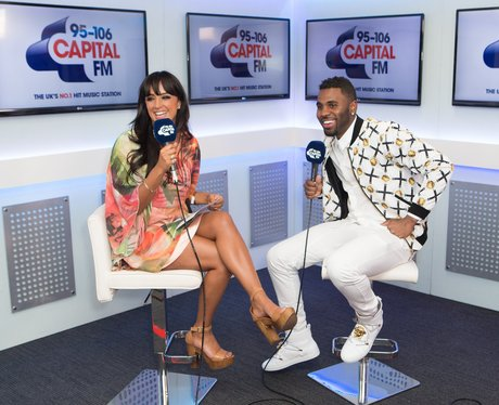 Jason Derulo and Max Backstage Summertime Ball 201
