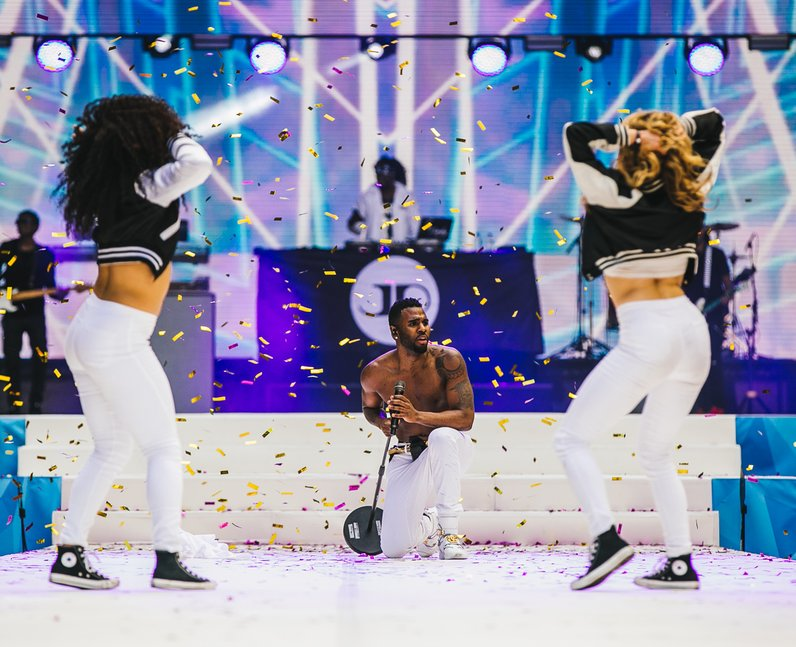 Jason Derulo Live Summertime Ball 2015