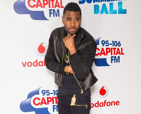 Jason Derulo Red Carpet at the Summertime Ball 201