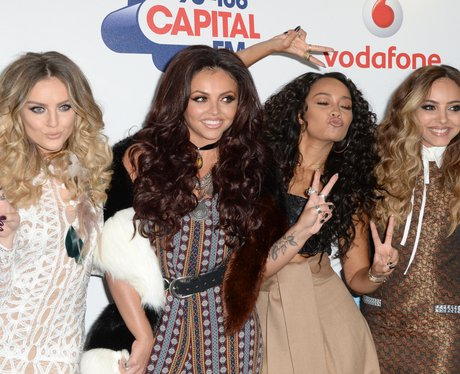 Little Mix Red Carpet at the Summertime Ball 2015