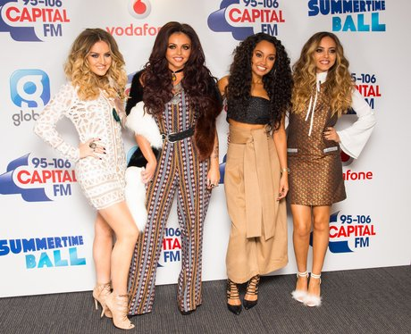 Little Mix Summertime Ball Red Carpet 2015