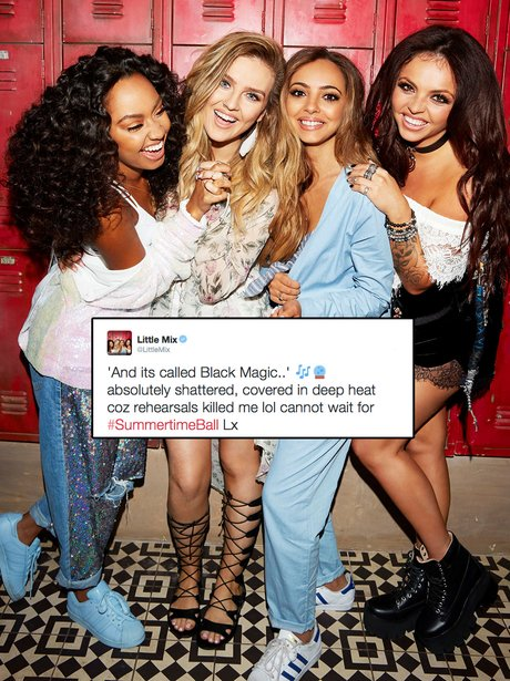 Little Mix Summertime Ball Tweet