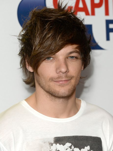 Louis Tomlinson Summertime Ball Red Carpet 2015