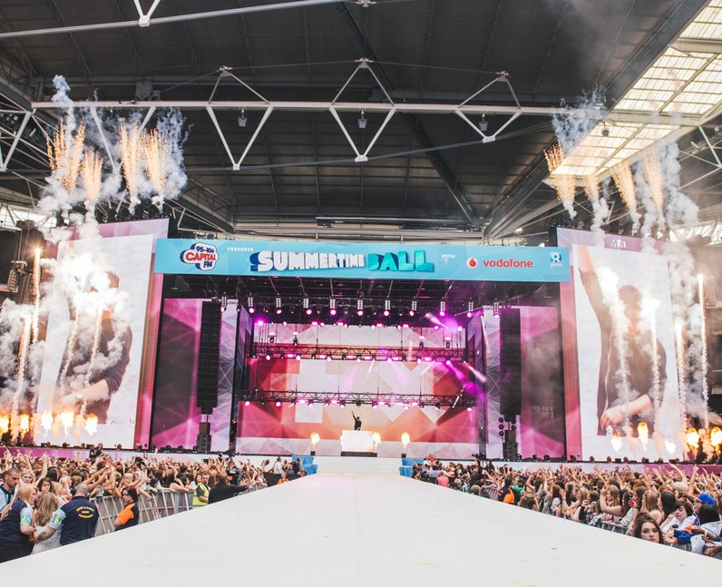Pyrotechnics lit up the capital stb stage as martin garrix set the place on fire capital for Capital home staging and design