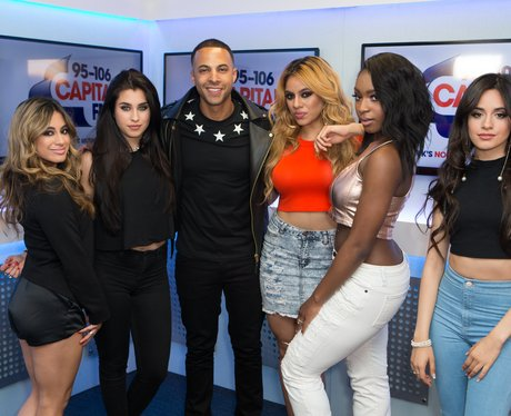 Marvin and Fifth Harmony Backstage Summertime Ball