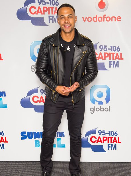 Marvin Humes Summertime Ball Red Carpet 2015