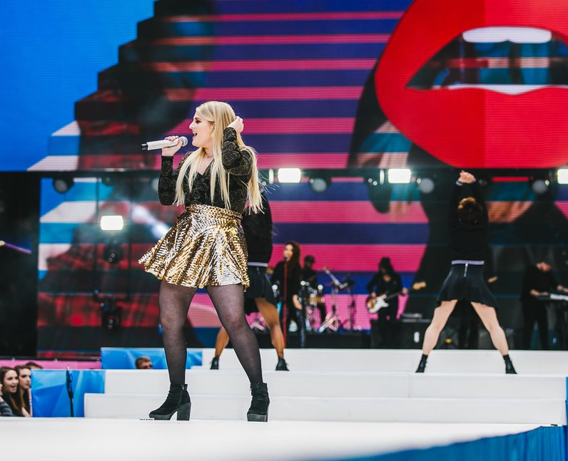 Meghan Trainor Live Summertime Ball 2015