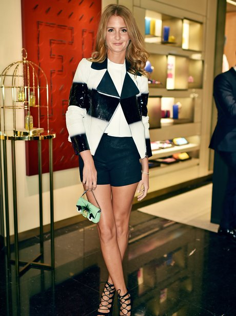 Millie Mackintosh with shorts on