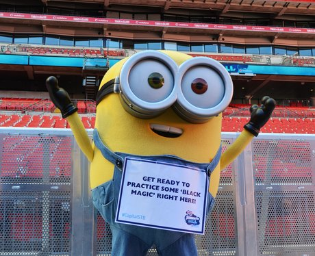 Minions Invade Wembley Stadium