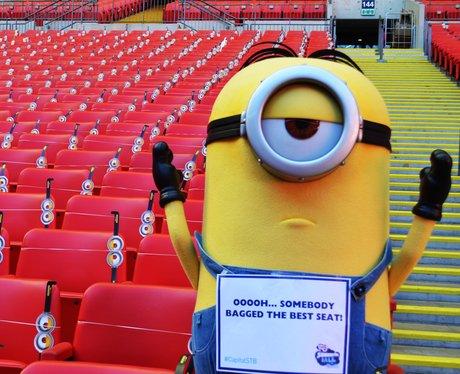 Minions Invade Wembley Stadium