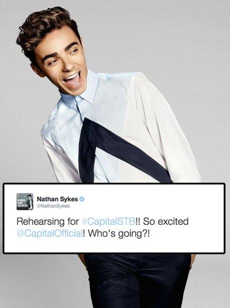 Nathan Sykes Summertime Ball Tweet