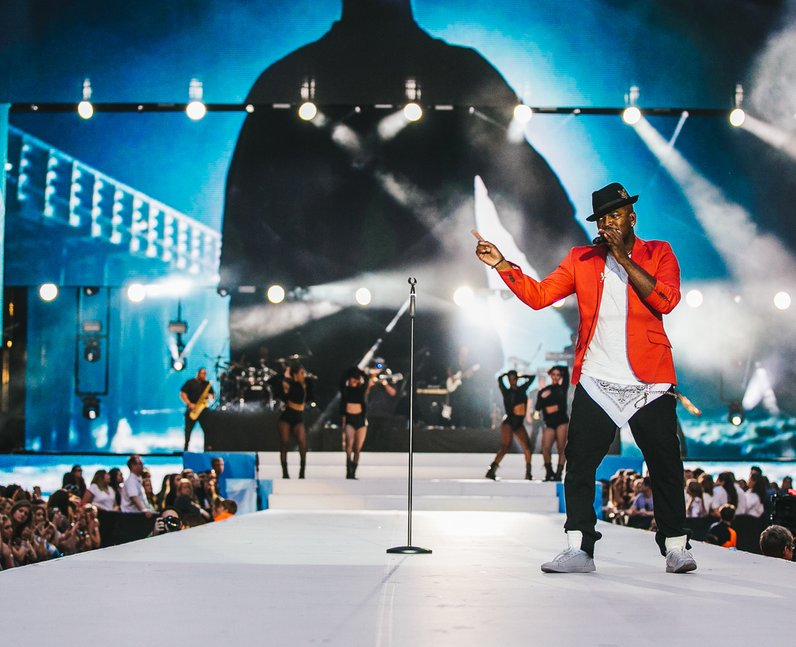 Ne-Yo Live Summertime Ball 2015