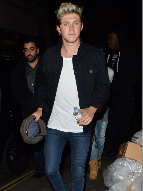 Niall Horan on a night out
