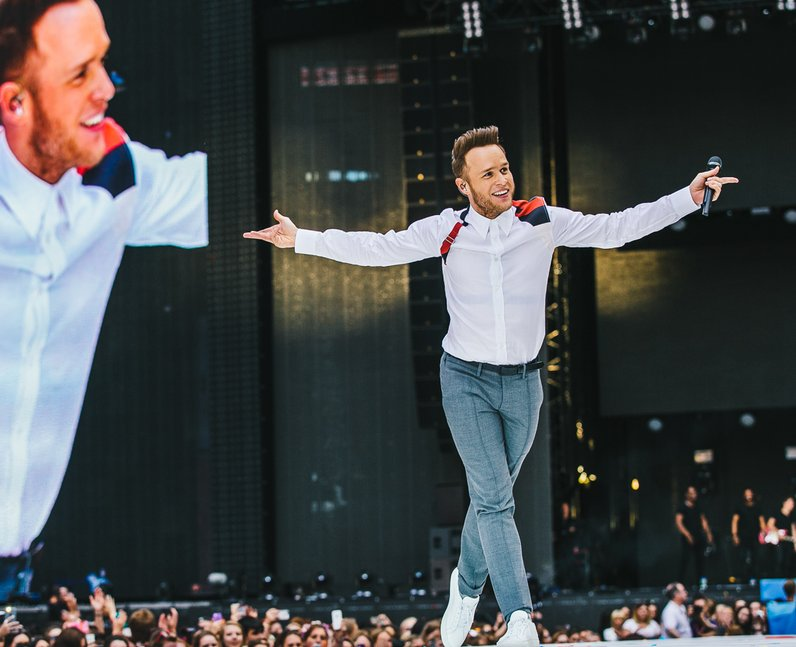 Olly Murs Live Summertime Ball 2015