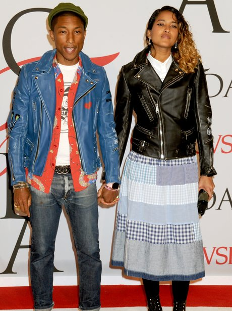 Pharrell Williams and Helen Lasichanh CFDA Awards