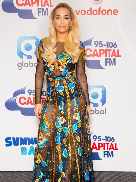 Rita Ora Red Carpet Summertime Ball 2015
