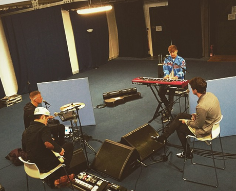 Rixton rehearsing