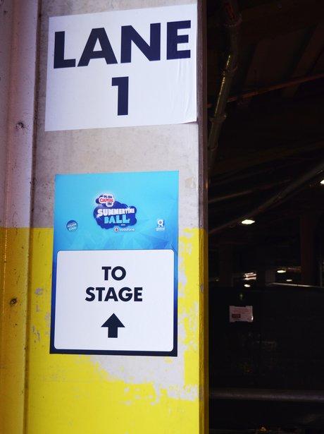 Summertime Ball 2015 Backstage