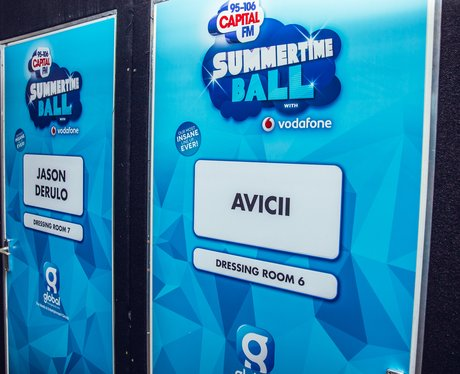 Summertime Ball 2015 Backstage