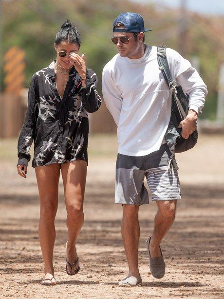 Zac Efron and girlfriend Sami Miro