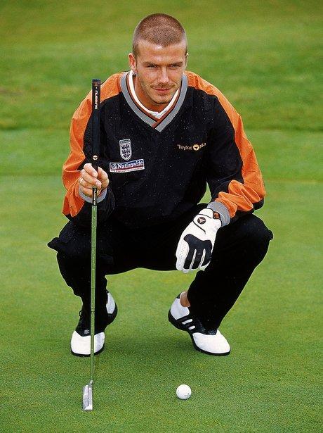 David Beckham Golf