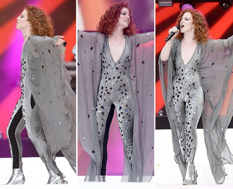 Jess Glynne summertime ball outfit