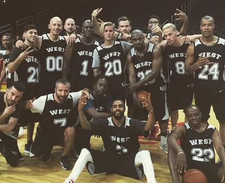 Justin Bieber Basketball Kanye Birthday
