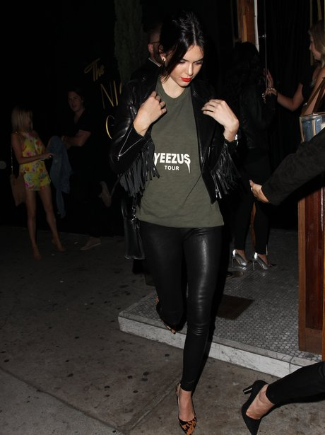 Kendall Jenner 'Yeezus' T Shirt