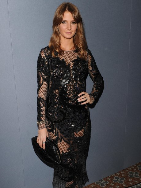 Millie Mackintosh Julien Macdonald Sheer Dress