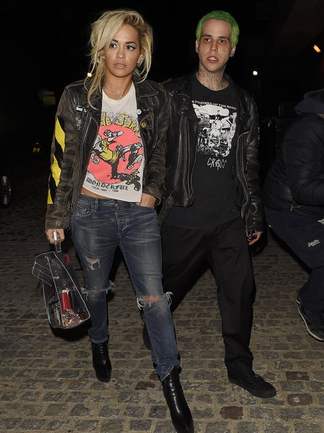 Rita Ora and Ricky Hillfiger