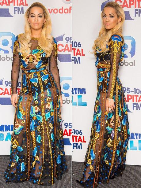 Rita Ora summertime ball outfit