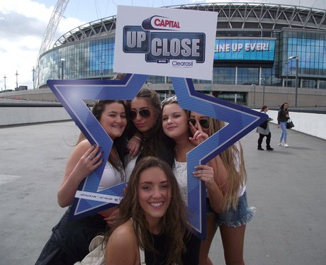Summertime Ball 2015 Listener Arrivals