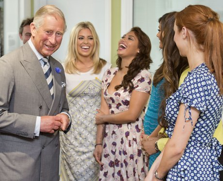 The Saturdays and Prince Charles