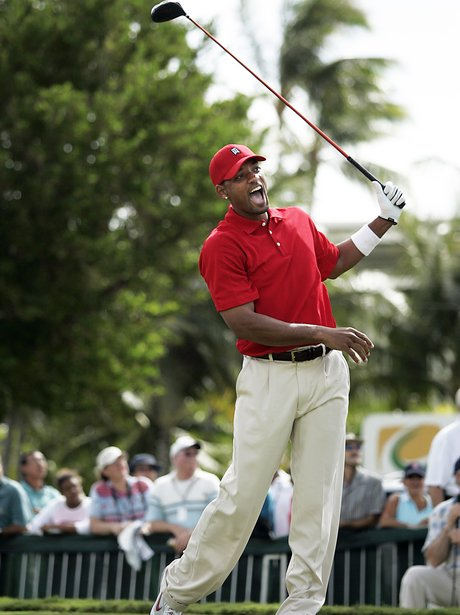 Will Smith playing golf