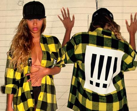 Beyonce revealing top