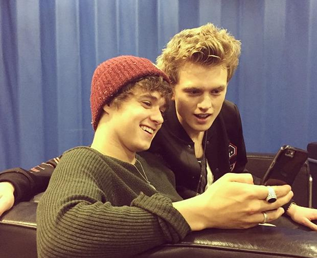 Brad and Tristan The Vamps